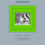 Atti dell'Ateneo di Scienze, Lettere ed Arti di Bergamo Volume LXXVIII