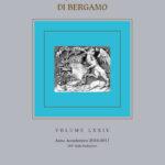 Atti dell'Ateneo di Scienze, Lettere ed Arti di Bergamo, volume LXXIV